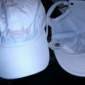New BM Peachy hat